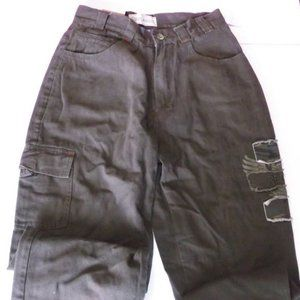 Redlands Brown Cargo Pants Boy Size 14 NEW